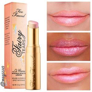 Too Faced La Creme Lipstick in Fairy Tears